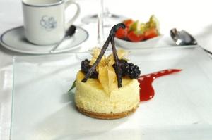 Dessert in St. Barths