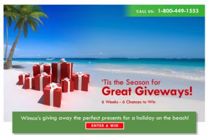 Wimco's 2010 Holiday Giveaway