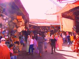 The Souk in Marrakech