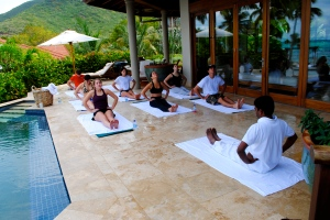 Yoga at WIMCO Villa Aquamare