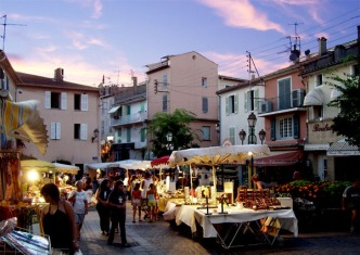 Ste-Maxime markets